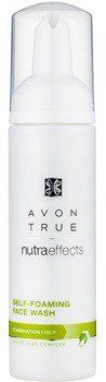 Avon True NutraEffects pianka oczyszczająca do skóry tłustej i mieszanej 150 ml