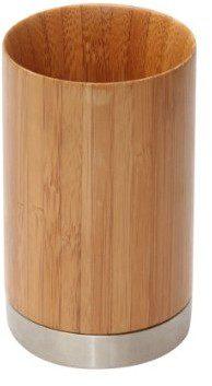 axentia 282330akcesoria łazienkowe bonja kubek do mycia zębów z bambusa, bambus, 1 - opakowanie 282330