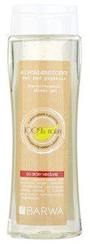 Barwa Natural Hypoallergenic żel pod prysznic do skóry wrażliwej (Wheat Exktract Enriched with Aloe Vrea Juice) 400 ml