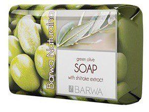 Barwa Naturalna Mydło z ekstraktem z oliwek i shiikitake 100g 5902305002183