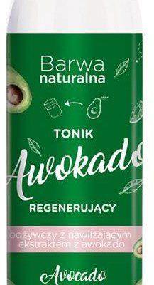 Barwa Naturalna regenerujący tonik do twarzy Awokado 300ml
