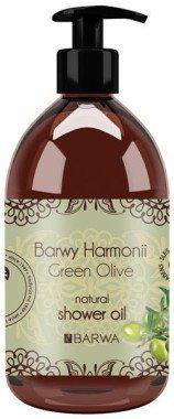Barwa Naturalny olejek pod prysznic Zielona oliwka - Harmony Oil Shower Naturalny olejek pod prysznic Zielona oliwka - Harmony Oil Shower