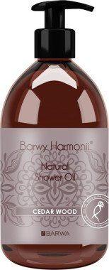 Barwa Olejek pod prysznic Drewno cedrowe - Harmony Oil Shower Olejek pod prysznic Drewno cedrowe - Harmony Oil Shower