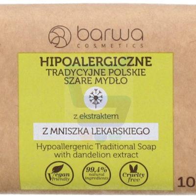 Barwa Tradycyjne szare mydło Mniszek Lekarski Hipoalergiczne 100 g