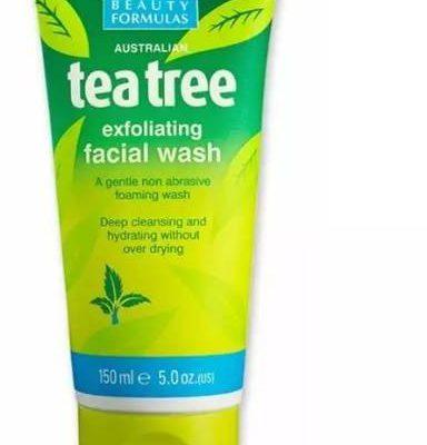 Beauty Formulas Beauty Formulas złuszczający żel do twarzy głęboko oczyszczający drzewo herbaciane 150 ml