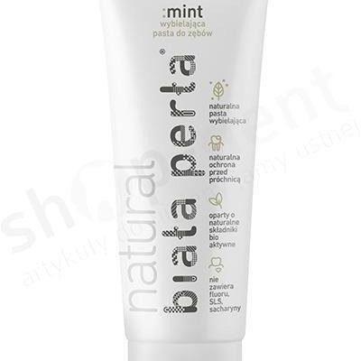 Biała Perła Biała Perła Mint Detox - miętowa pasta do zębów bez fluoru o niskim RDA - 75 ml