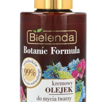 BIELENDA Bielenda Botanic Formula Olej z Czarnuszki+Czystek Kremowy Olejek przeciwzmarszczkowy do mycia twarzy 140ml 132074