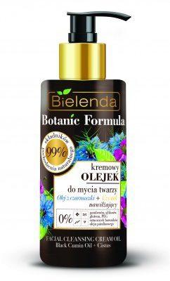 Bielenda Botanic olejek do mycia twarzy czarnuszka+czystek