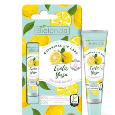 Bielenda Botanical Balsam do ust Exotic Yuzu 10g