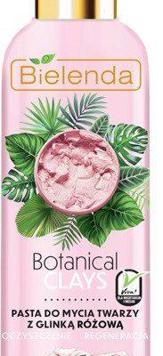 Bielenda Botanical Clays pasta do mycia twarzy z glinką różową 190g