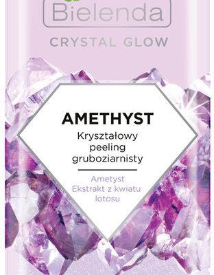 Bielenda Crystal Glow AMETHYST KRYSZTAŁOWY PEELING GRUBOZIARNISTY 8g