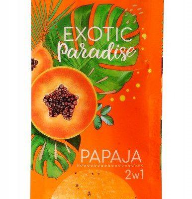 Bielenda Exotic Paradise Żel peelingujący do ciała 2w1 regenerujący Papaja 25g SO_109974