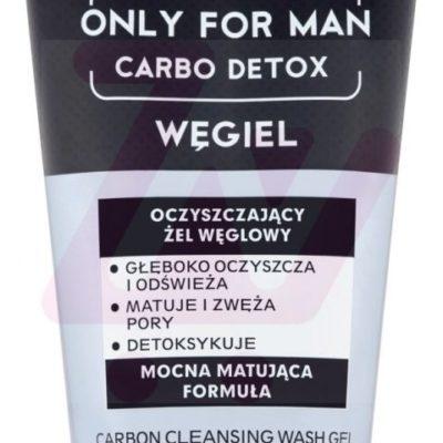 Bielenda Only for Man Carbo Detox Oczyszczający żel węglowy 150 g