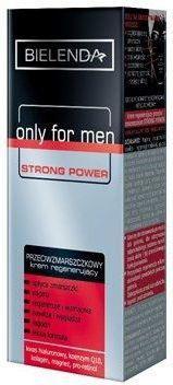 Bielenda ONLY FOR MEN STRONG POWER - REGENERUJĄCY PRZECIW ZMARSZCZKOM 50ml