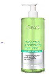 Bielenda Professional Antibacterial & Normalizing Face Tonic antybakteryjny tonik normalizujący do twarzy 500ml