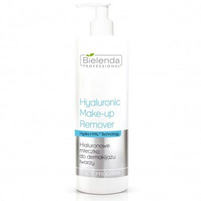 Bielenda Professional HYALURONIC MAKE-UP REMOVER MILK Hialuronowe mleczko do demakijażu