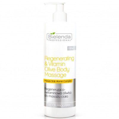 Bielenda PROFESSIONAL Regenerująco - witaminowa oliwka do masażu ciała 500ml xml_122118