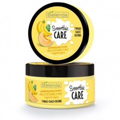 Bielenda Smoothie Care krem multifunkcyjny-regenerujący, prebiotyczny Banan+Melon 200ml