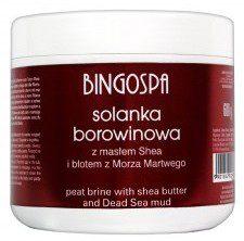 Bingospa Solanka borowinowa z masłem shea 600g Bingospa