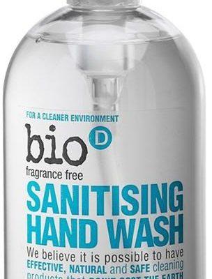 BIO-D Antybakteryjne, bezzapachowe mydło w płynie, 500 ml,