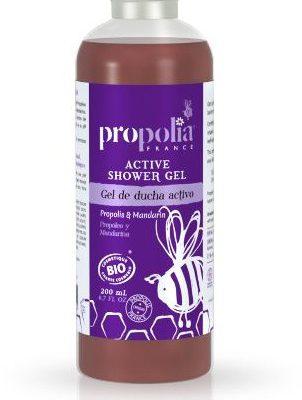 Bio Propolia Propolia żel pod prysznic z Propolisem i Mandarynką - 200ml - ECOCERT