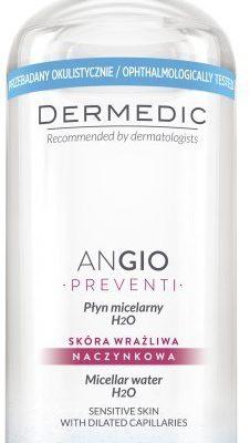 Biogened S.A Dermedic Angio Płyn micelarny do demakijażu 500 ml 7073542