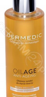Biogened S.A DERMEDIC OILAGE ANTI-AGEING Olejowy syndet do mycia twarzy 200 ml 7071138