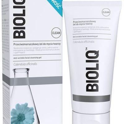 Bioliq wrażliwa Clean przeciwzmarszczkowy żel do mycia twarzy 125ml
