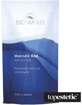 Biomaris Bath Sea Salt Sól morska do kąpieli i okładów 500 ml