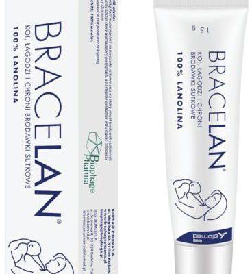 Biomed Bracelan maść do pielęgnacji brodawek sutkowych 15 g 7065740