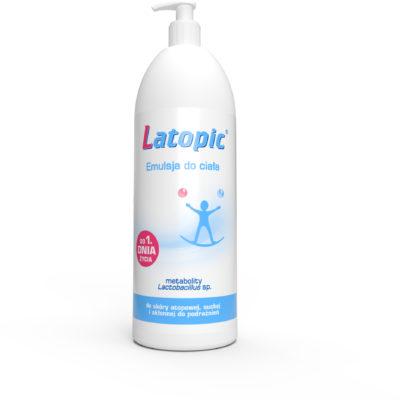 Biomed LATOPIC Emulsja do ciała 1000 ml 7074330