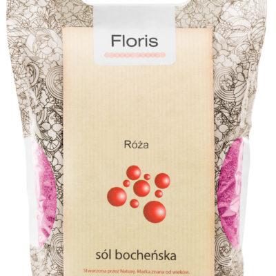Bochneris bocheńska sól kąpielowo-lecznicza Floris 1,2 KG Różana
