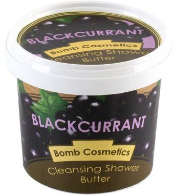 Bomb Cosmetics Blackcurrant myjące masło pod prysznic 365ml