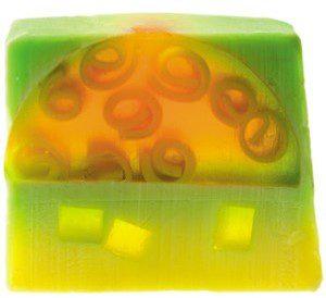 Bomb Cosmetics Mydło glicerynowe ANANASOWA IMPREZA z Cytryną i Grejpfrutem 110 g