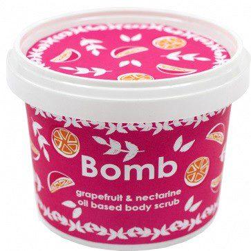 Bomb Cosmetics Oil Based Body Scrub Peeling Pod Prysznic Grejpfrut I Nektarynka 400g