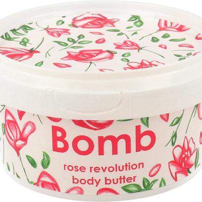 Bomb Cosmetics Shea Body Butter Masło Do Ciała Różana Rewolucja 200ml