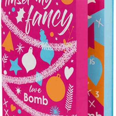 Bomb Cosmetics Tinsel My Fancy - 24 Day Bath & Beauty Advent Calendar- Kalendarz adwentowy do kąpieli i pielęgnacji BOMAKDIPI