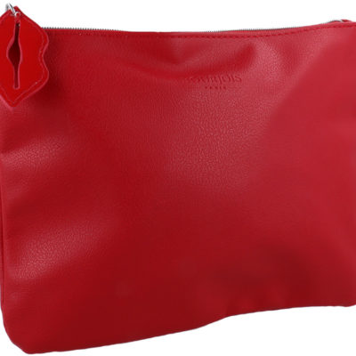 Bourjois Bourjois Make Up Bag Kosmetyczka Na Zamek Czerwona