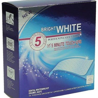 BRIGHT WHITE BRIGHT WHITE Paski wybielające 14 szt