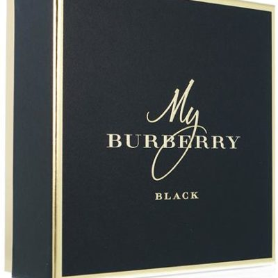 Burberry My Black zestaw woda perfumowana spray 50ml + balsam do ciała 75ml