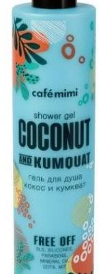 Cafe mimi Żel pod prysznic Coconut & Kumquat 300ml Cafe Mimi
