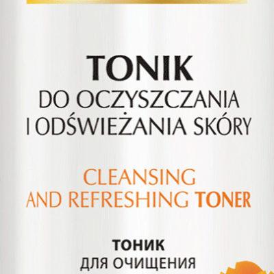 Celia Kolagen tonik do oczyszczania i odświeżania skóry z nagietkiem 200ml