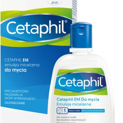 Cetaphil EM, emulsja micelarna do mycia, 250ml 7077485
