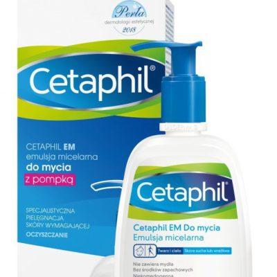 Cetaphil EM oczyszczająca emulsja micelarna z dozownikiem 236 ml