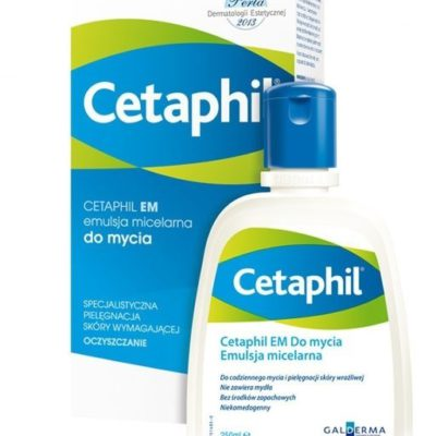 Cetaphil GALDERMA POLSKA SP Z O.O EM emulsja micelarna do mycia 250 ml 7040452
