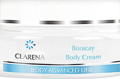 Clarena Boracay Body Cream Nawilżający Krem do ciała dla skór suchych i odwodnionych 200ml