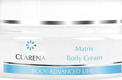 Clarena Matrix Body Cream Odmładzający Krem do ciała aktywujący 14 genów młodości 200ml