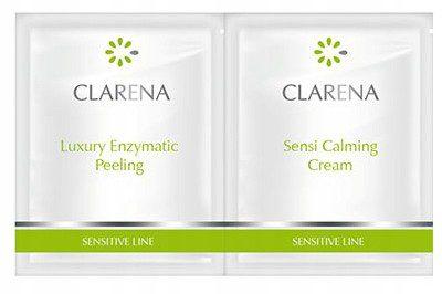 Clarena Zestaw Luxury Peeling + Sensi Calming Krem