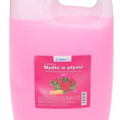 Clean Antybakteryjne mydło w płynie CleanPRO PREMIUM różane 5 litrów 357600