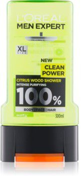 Clean LOréal Paris LOréal Paris Men Expert Power żel pod prysznic 300 ml
